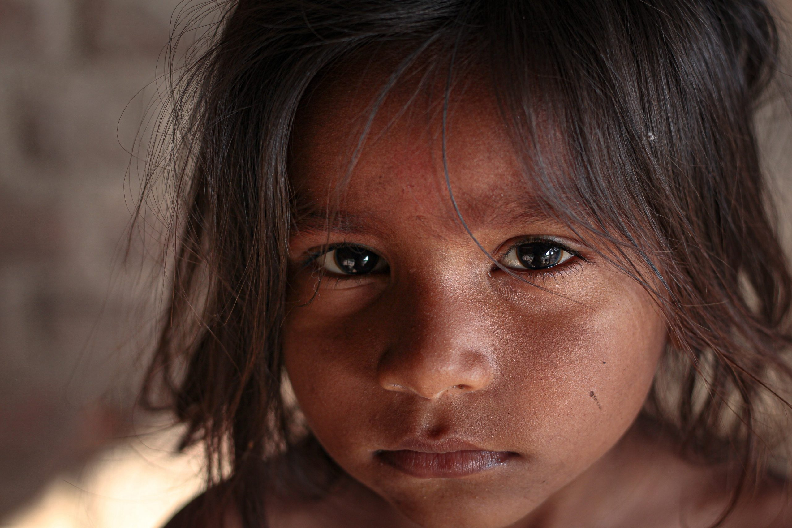 Sad Child, Help for Human Trafficking, Save the Children, The Prism Project